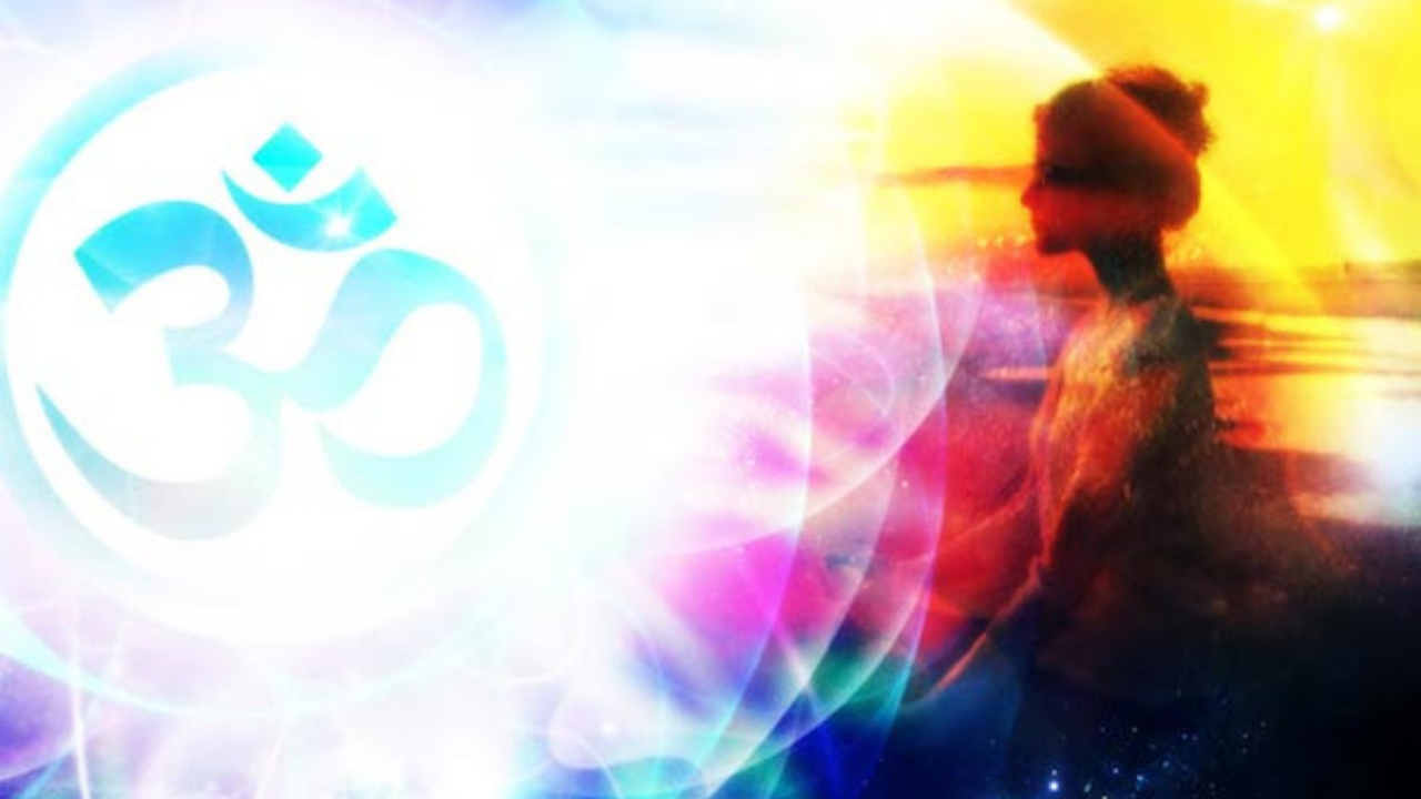 OM speaks of the divine essence of the universe.